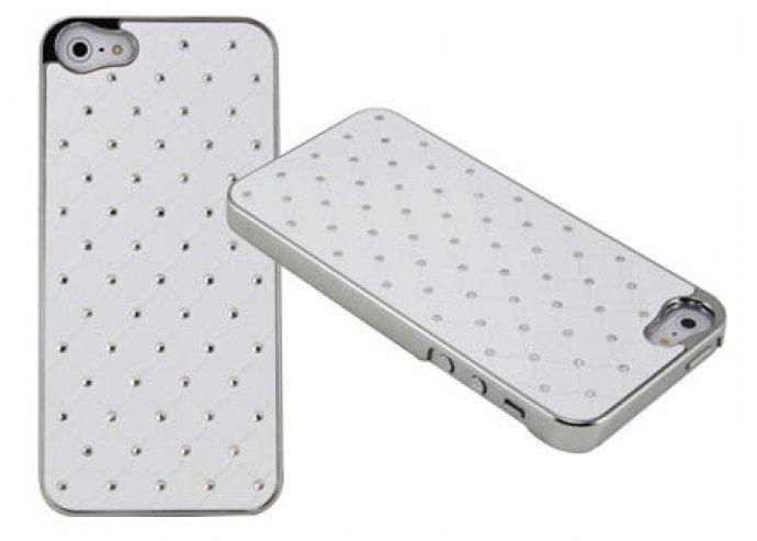 iPhone 4 strasszos hátlapok 2 színben, fekete vagy fehér