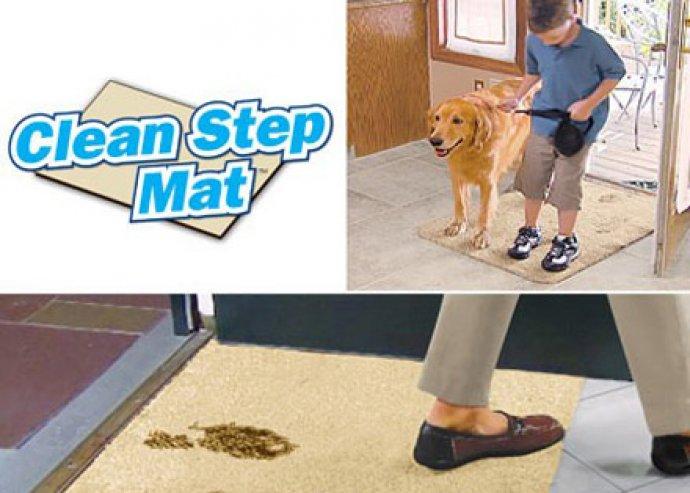 Szabadulj meg a kosztól - Clean Step Mat csodalábtörlő különleges mikroszálakkal, szuper nedvszívóképességgel
