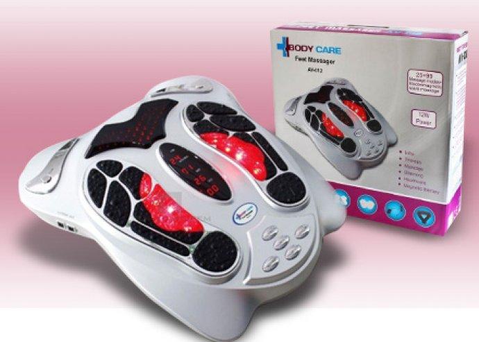 Lábmasszírozó, 25 fajta masszírozási mód a talpon és a testen, infravörös fénye serkenti a vérkeringést