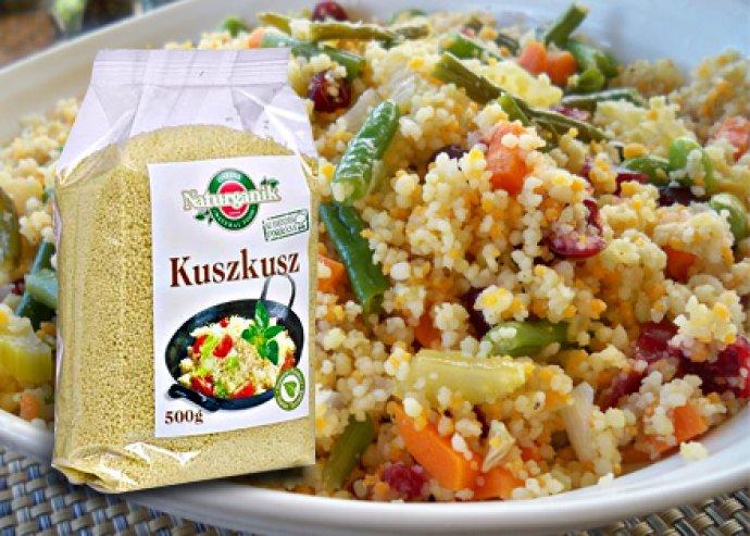 Mennyei és egészséges vacsorák - gyorsan elkészíthető 500 grammos kuszkusz, levesekhez vagy köretekhez