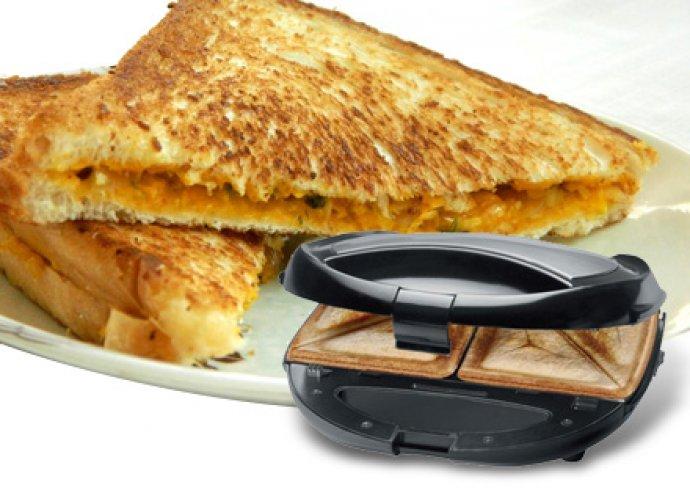 3 az 1-ben tapadásmentes szendvicssütő, grillező és gofrisütő egyben