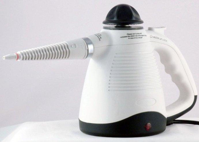 Vegyszermentesen használható kézi gőztisztító készülék, konyha, fürdőszoba, autó tisztításához