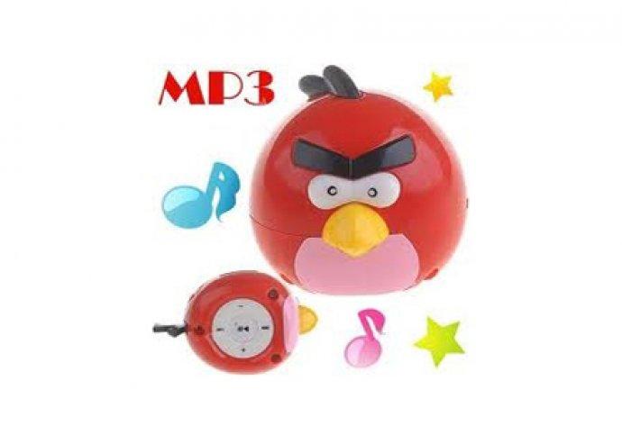 Angry Birds MP3 lejátszó + adatkábel + füllhallgató