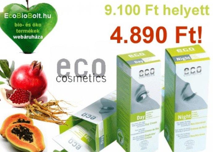 Bio nappali és éjszakai arckrém gránátalmával, papayával és ginsenggel az Eco-Cosmetics-től!