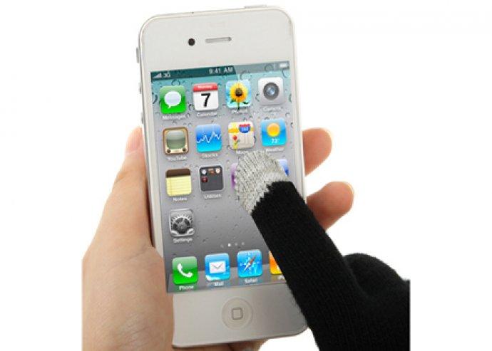 Okostelefon kesztyű minden érintőképernyős eszközhöz
