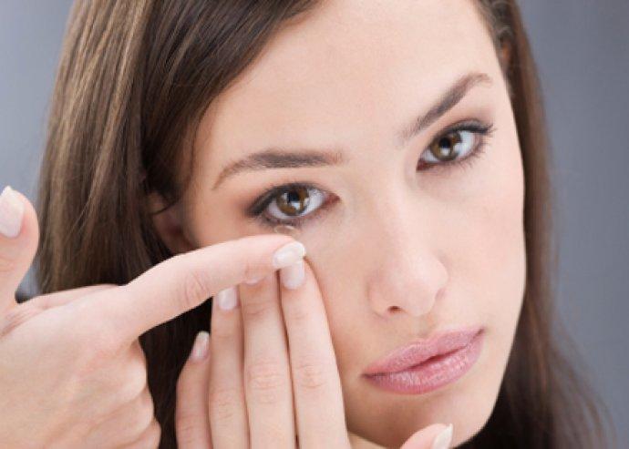 3 havi Ciba Vision kontaktlencse, vizsgálattal és betanítással