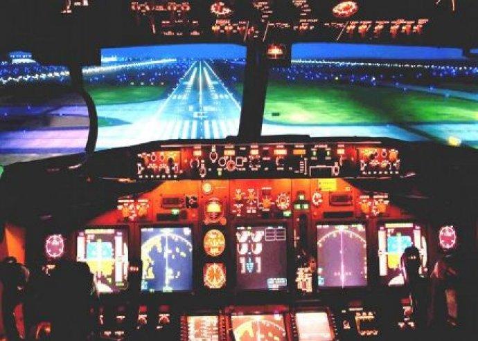BOEING 737 repülőgépszimulátor vezetés