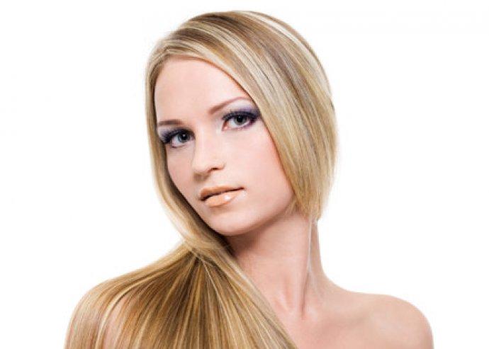 Keratinos hajszerkezet újraépítés AngelFace Szépségszalonban