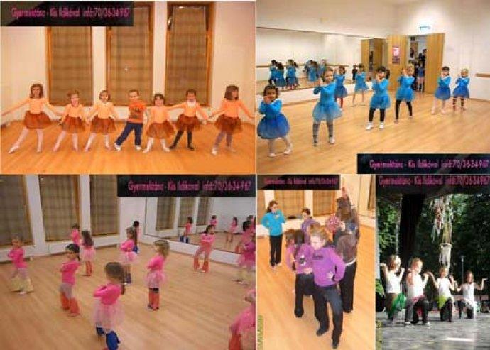 8 alkalmas táncóra a Little Dance Gyermektánc Isolában