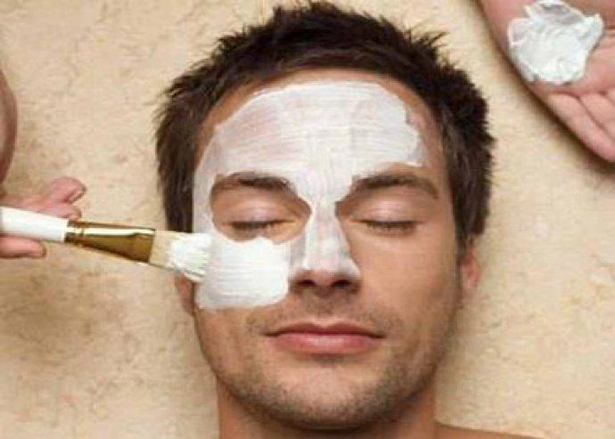 Férfi arctisztítás