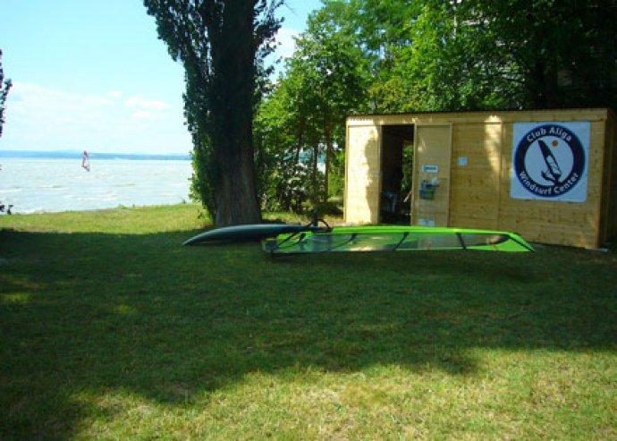 Szörf oktatás a Balatonon