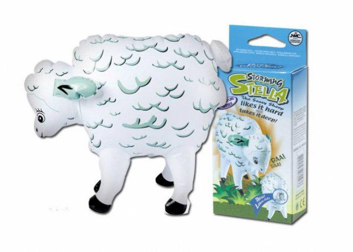 Storming Stella felfújható bárány hátsó lyukkal