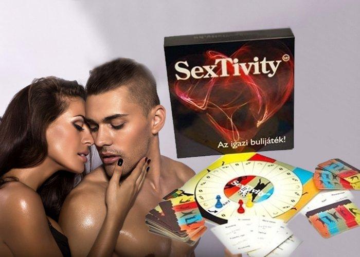 SexTivity szórakoztató társasjáték
