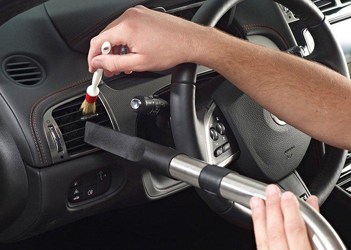 Külső- belső autómosás klímatisztítással