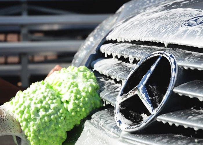 Autómosás, ózonkezelés, nano szélvédőbevonat