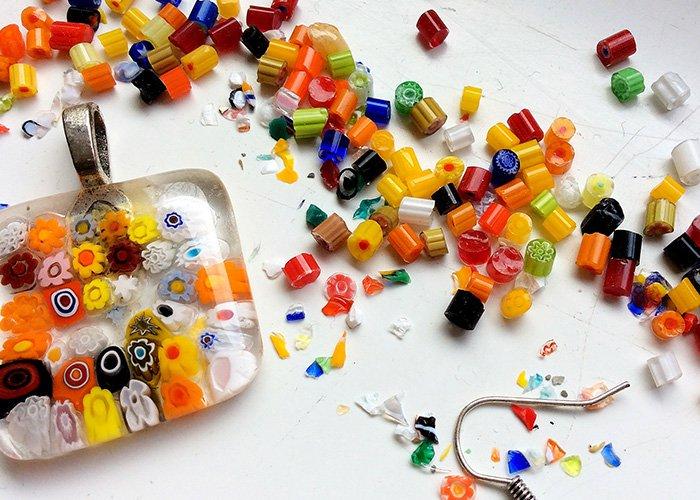 Muranói üvegékszer-készítő workshop