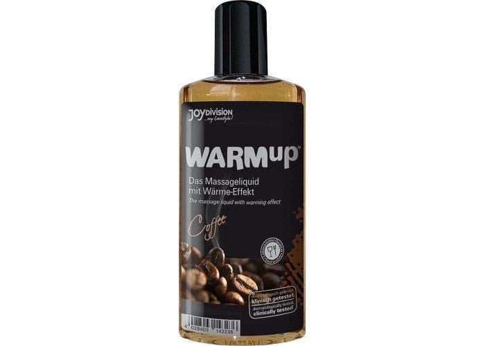 WARMup Masszázs folyadék forrósító hatással - kávé 150 ml