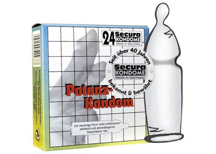 Secura Potency Condom 24 units