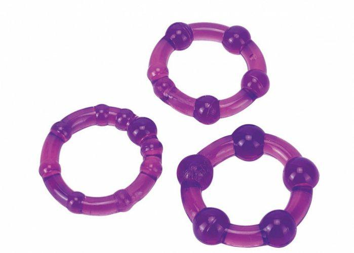 Ultra Soft & Stretchy Pro Rings Purple