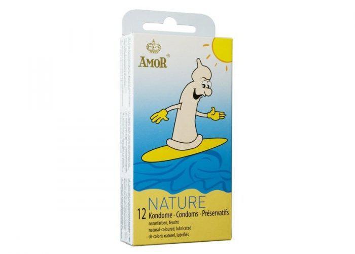 AMOR Nature 12 darabos kondom