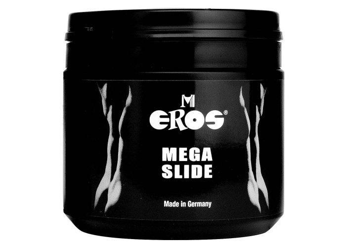 EROS MEGASLIDE szilikonos és vizes (hibrid) síkosító - 500ml