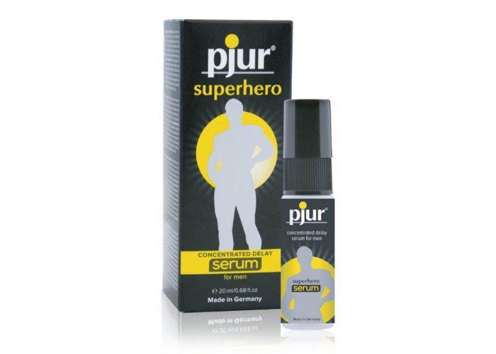 pjur Superhero innovatív késleltető szérum férfiaknak - 20 ml