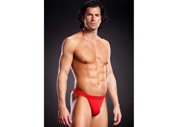 Piros férfi tanga L/XL
