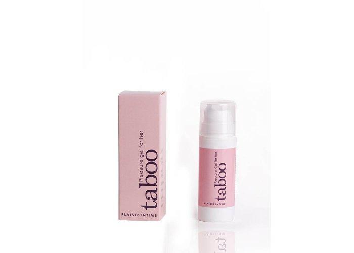 TABOO csikló zselé, mely javítja érzékenységet az optimális szexuális öröm eléréséhez