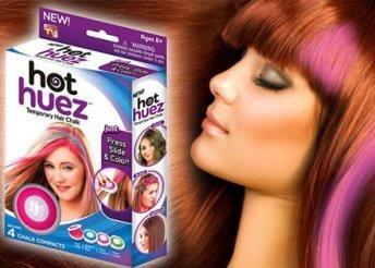 Hajszínező korongok a bohókás, fiatalos tincsekért – színes haj egyszerűen, mint az egyszeregy!