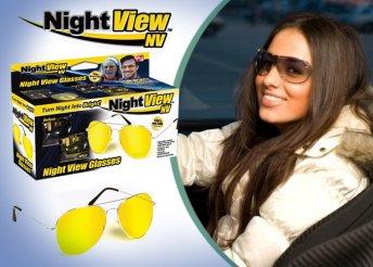 Vezess biztonságban: trendi Night View szemüveg, éjjeli és nappali vezetéshez is, unisex kivitelben