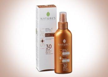 Magas minőségű, nikkel-tesztelt és parabénmentes, 25 vagy 30 faktoros Solari napvédő, érzékeny bőrűeknek is