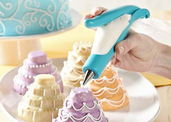Használata könnyű, mint az írás - ergonomikus kialakítású, süteménydekoráló toll