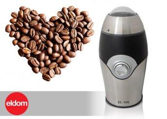 Eldom kávédaráló minőségi acél pengékkel