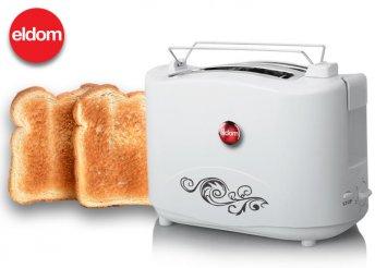 Eldom két rekeszes, automata kenyérpirító