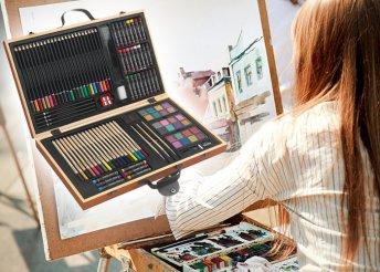 88 darabos művész színező készlet