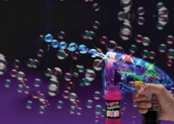 Buborékharc a nappaliban