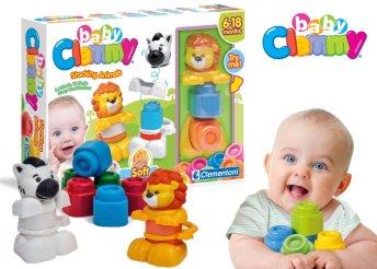 Clemmy Baby állatos toronyépítő