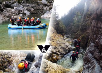 Rafting vagy canyoning vadvizes extrém túra