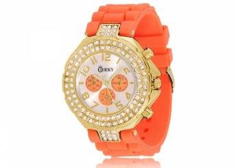 Cheeky HE003 Gold Orange Chronostyle