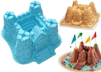 Szilikon kastély sütőforma