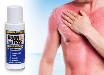 Burn Free gél égési sérülések kezelésére