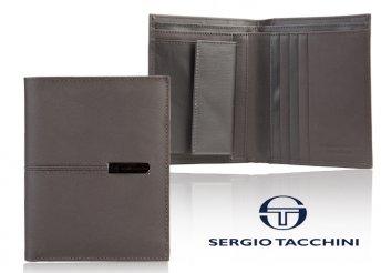 Tacchini férfi bőr pénztárca sok zsebbel