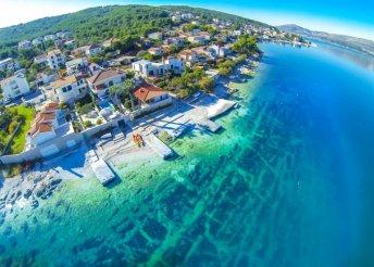 8 napos nyaralás 6 főnek a gyönyörű Trogirban