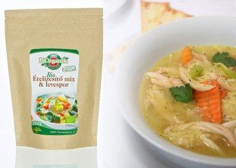 Természetes, bio ételízesítő mix és levespor