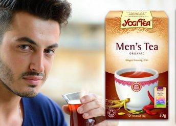Ayurvéda férfi tea filter 17 db