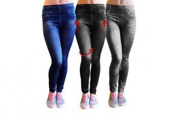 3 darab Slim Fit Jeans alakformáló nadrág