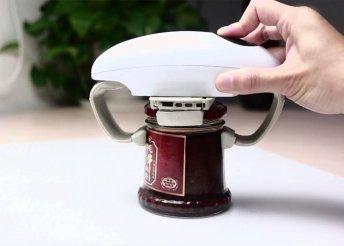 Automata befőttesüveg-nyitó készülék