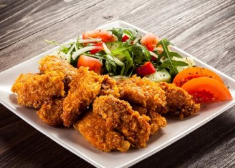 Ropogós csirkemell 2 főre Szentendrén