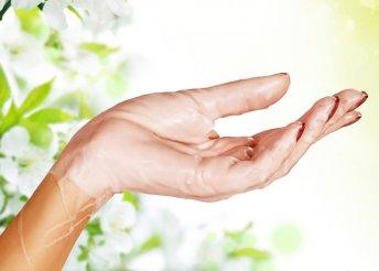 Tápláló, paraffinos kéz- és lábápolás