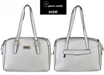Pierre Cardin táska két különböző színben, minőségi műbőr anyagból, levehető vállpánttal, több belső és külső